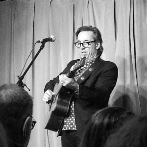 Stephen Fearing, 30 March 2019, Station One Coffeehouse, Grimsby, ON