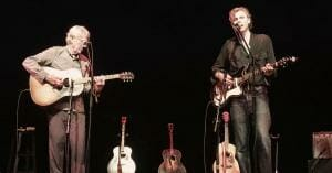 Joel and Bill Plaskett, 3 August 2019, Sawdust City Music Festival, Gravenhurst, ON