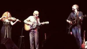 Joel and Bill Plaskett (with Miranda Mulholland), 3 August 2019, Sawdust City Music Festival, Gravenhurst, ON