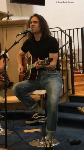 Liam Russell, Songwriters Circle, Sawdust City Music Festival 2018, Gravenhurst, ON