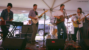 Jay Gilday with Terence Jack, Philadelphia Folk Festival, 18 August 2018