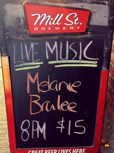 Melanie Brulée, 18 October 2018, Cadillac Lounge, Toronto, ON