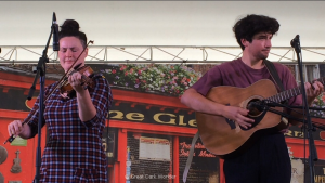 Qristina and Quinn Bachand, 24 September 2017, Celtic Classic, Bethlehem, PA