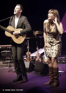 Matthew Barber & Jill Barber, Oakville Performing Arts Centre, Oakville, ON, 4 May 2017