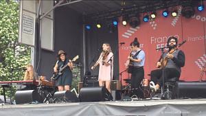 Les Poules à Colin, Francofest Hamilton, Hamilton, ON, 24 June 2017