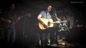 Sam Polley & the Old Tomorrows, 3 February 2018, Moonshine Cafe, Oakville, ON
