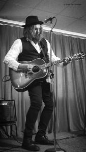 Tom Wilson, 2 June 2018, Station One Coffeehouse, Grimsby, ON